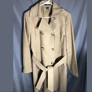 Gap Womens Double Breasted 100% Cotton Trench Coat